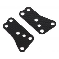 Associated RC8B3.2 Front Upper Arm Inserts Carbon 1.2mm