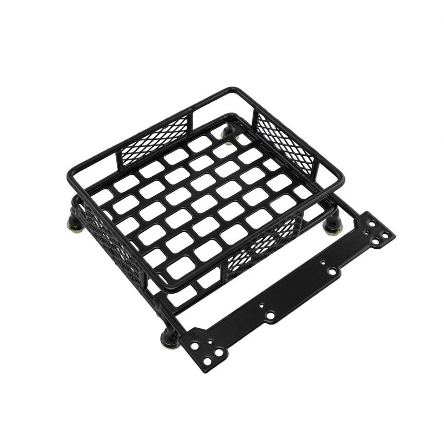 RCparts 1/10 Scale Crawler Accessory Roof Rack Luggage Tray 110X103mm
