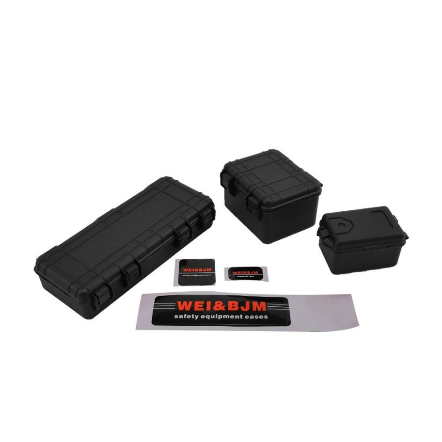 RCparts 1/10 Scale Crawler Accessory Tool Cases (3Pcs)