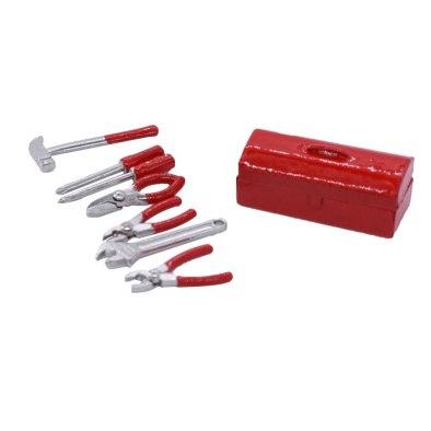 Caja De Herramientas 1/10 Crawler - Rojo RCparts