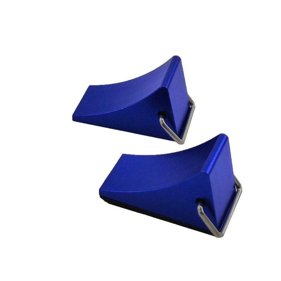 Cuñas Rueda Aluminio 1/10 Crawler - Azul (2) RCparts