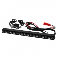 BARRA LUCES LED 18 ELEMENTOS 145mm 1/10 CRAWLER RCPARTS