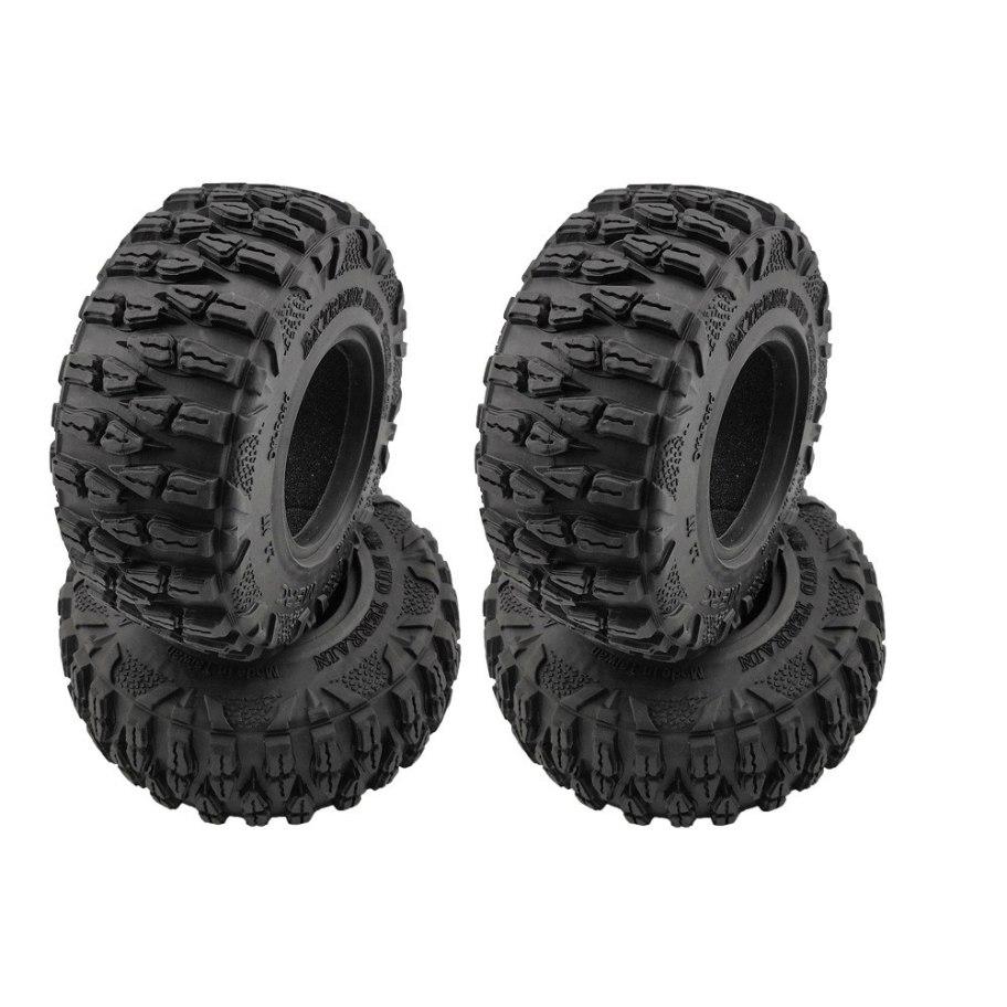 "RCparts Roundcube 2.2"" Crawler Tires W/Foam Ø120mm (4Pcs)"