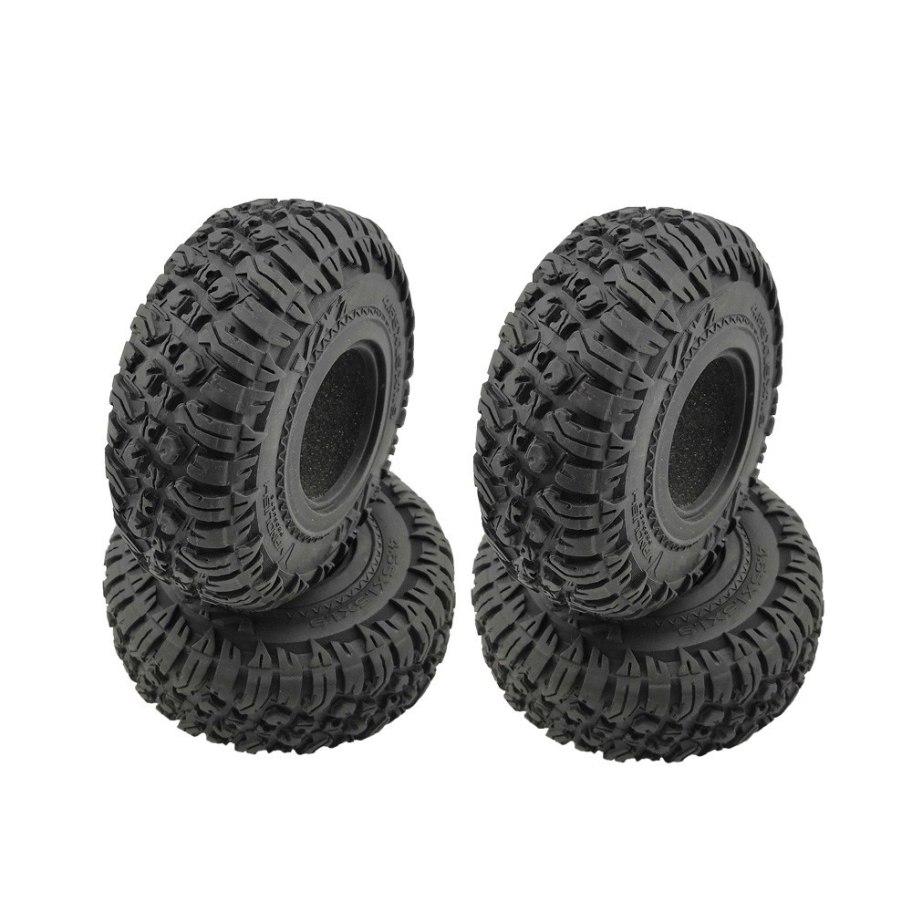 "RCparts Roundcube 1.9"" Crawler Tires W/Foam Ø120mm (4Pcs)"