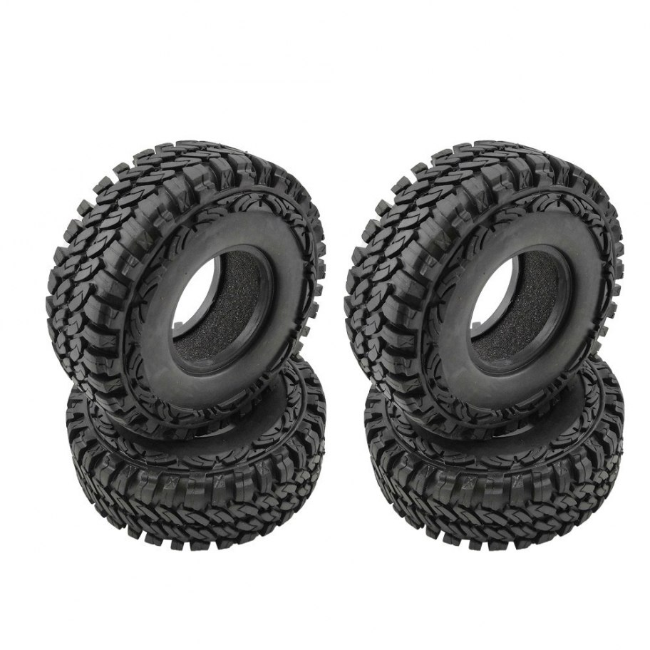 "RCparts Rocky Mountain 1.9"" Crawler Tires W/Foam Ÿ113mm (4Pcs)"
