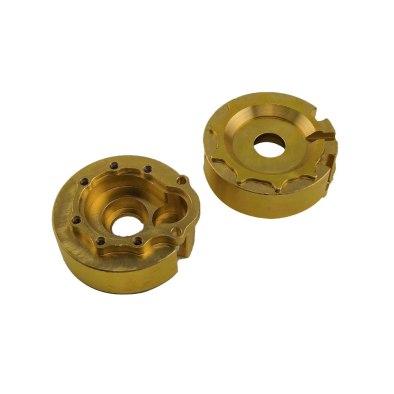 RCparts Traxxas TRX-4 Brass Portal Cover Set