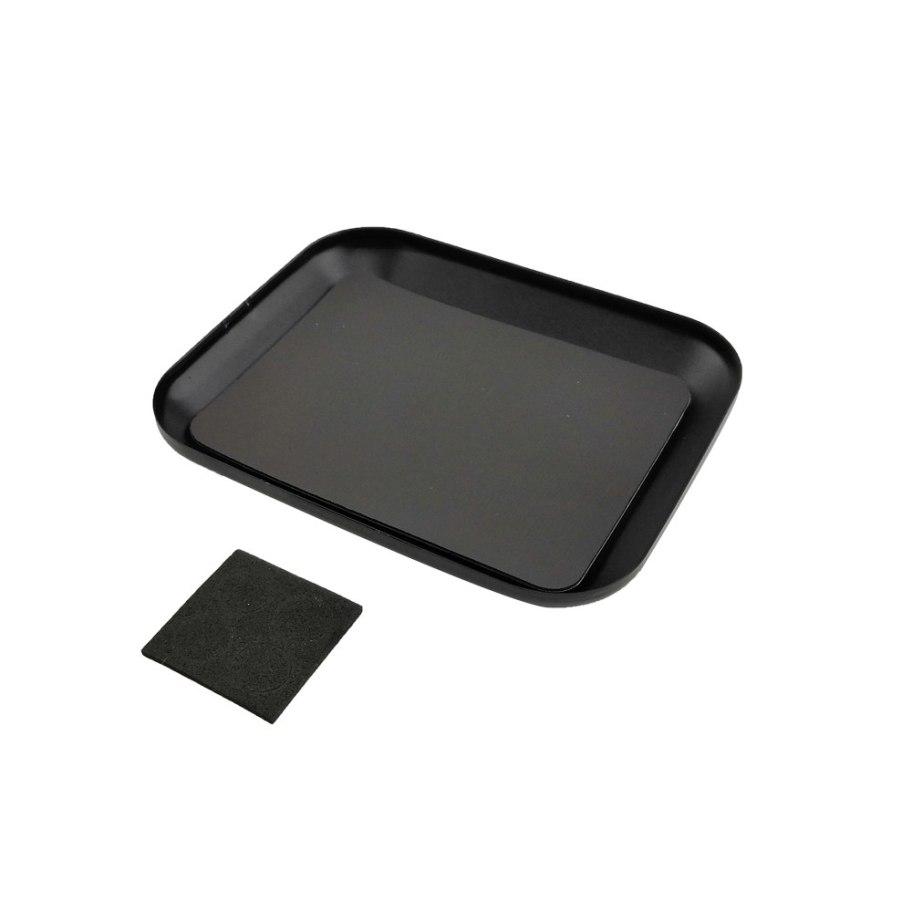 RCparts Magnetic Parts Tray Black