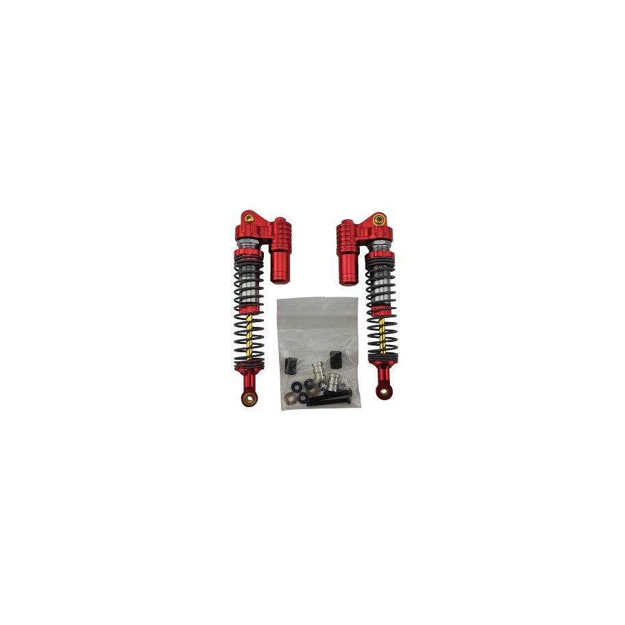 Amortiguadores Crawler 110mm - Rojo (2) RCparts