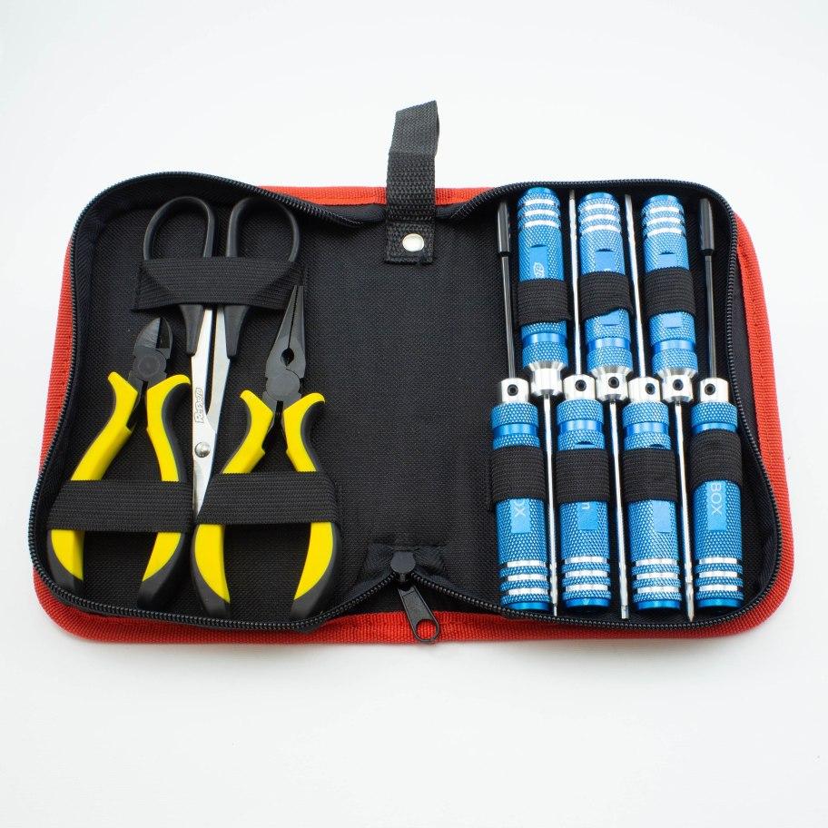 RCparts Tool Bag (10 Tools)