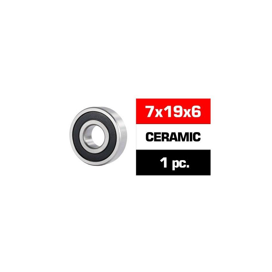 Ultimate Racing 7x19x6 (Ceramic) - Engine (1) Bearings