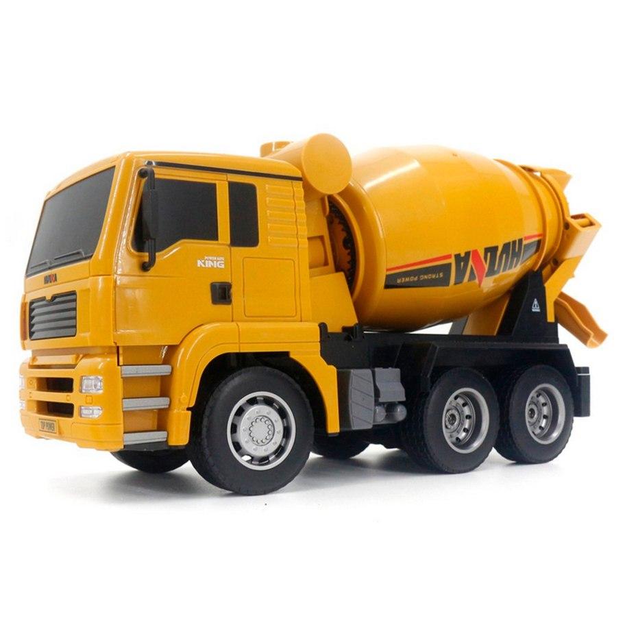 Huina 2.4G 6Ch Rc Mixer Truck 1:18