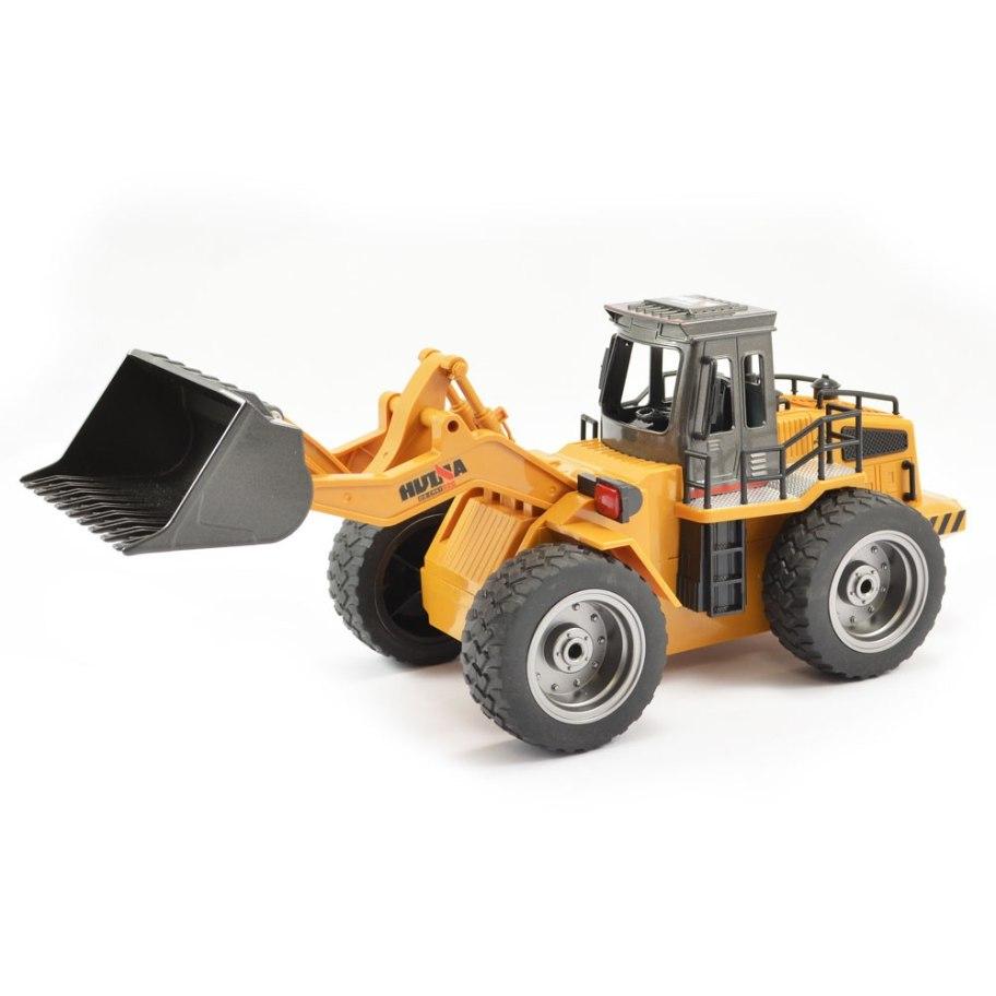 Huina 1520 2.4G 6Ch Rc Bulldozer W/Die Cast Bucket