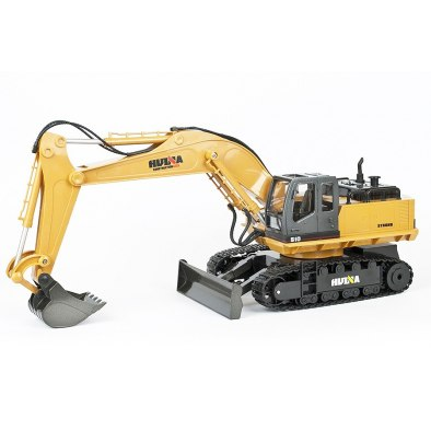 Huina 1/16 Scale Rc Excavator 2.4G 11Ch W/Die...