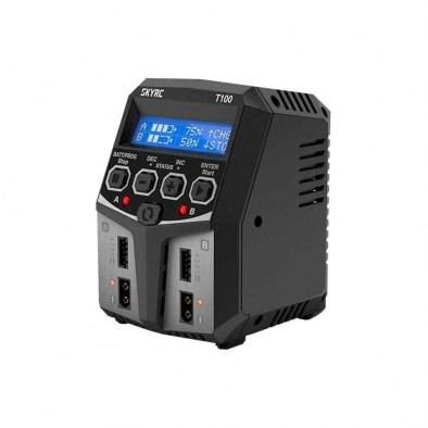 Cargador Skyrc T100 Dual - 100W/5A