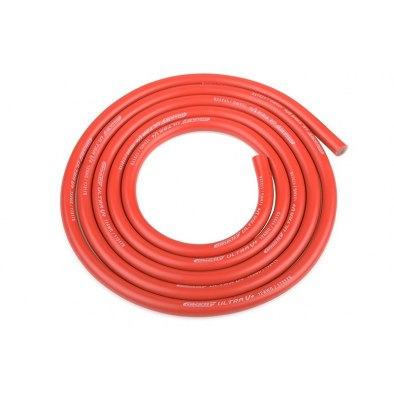 Team Corally Ultra V+ Silicone Wire Red - 12AWG