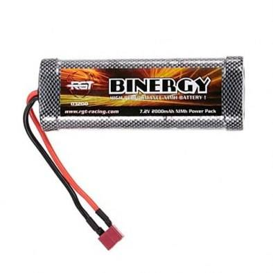 Batería Nickel 7.2V 2000mAh Crawler | Conector...