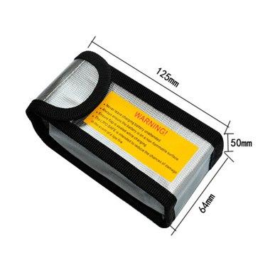 RCparts LiPo Safety Bag 64X50X125mm