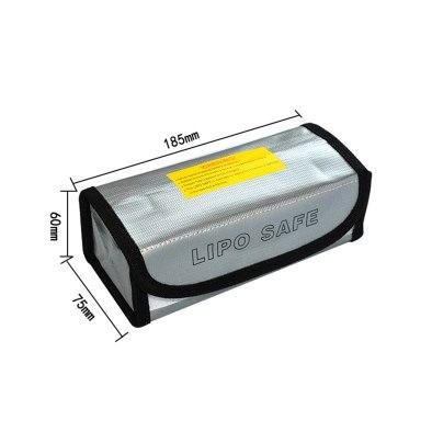 Bolsa Carga LiPo RCparts 18.5X7.5X6Cm (Ignifuga)