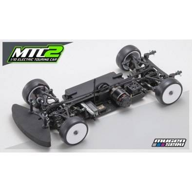 Mugen MTC2 1/10 Touring Car Graphite Chassis Kit