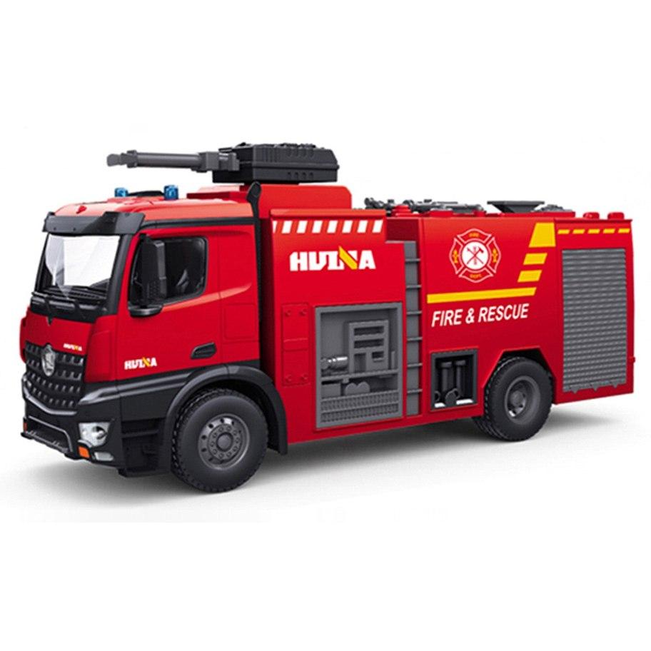 Camión Bomberos Huina 1562 1/14 2.4Ghz - Con Cañón de Agua