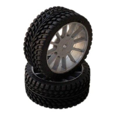 SP 1/10 Tyres Radial Sport - 26mm - Black Wheels