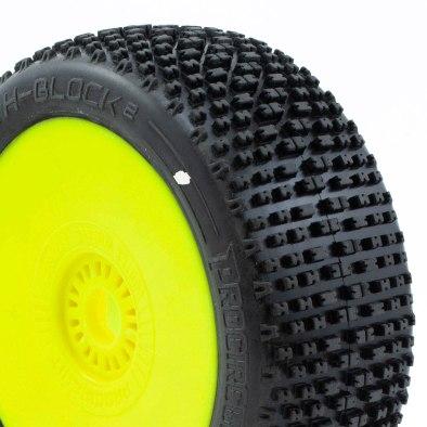 Procircuit H-Block V2 Pre-Mounted Yellow Wheel (2)