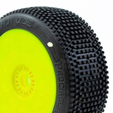 Procircuit Hot Dice V2 Pre-Mounted Yellow Wheel...