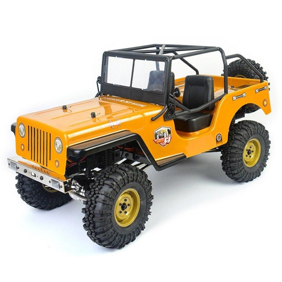 RGT EX86010 CJ Jeep - 1/10 Crawler 285mm 4x4 Waterproof