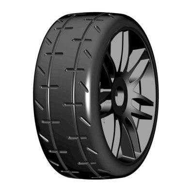 GRP Revo 1/8 GT Ultra Soft Black (2) | Rally...