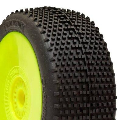 Procircuit Claymore Pre-Mounted Yellow Wheel (2)