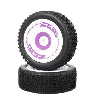 Wltoys 124019 - Front Tires Set (2)