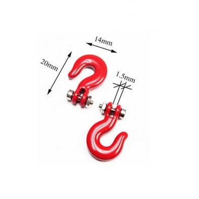 RCparts 1/10 Scale Crawler Accessory Winch Hook...