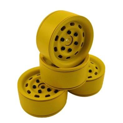 """RCparts 1.9"""" Aluminum Beadlock Crawler Wheels..."""