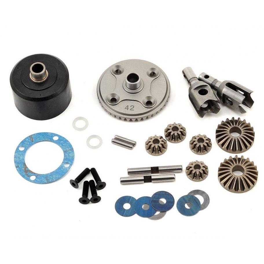 Mugen Seiki H.T. Front/Rear Differential Set 42T: X7R/E/MGT/E