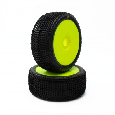 6mik Rapid 1/8 Buggy Pre-Mounted Tires (2)...
