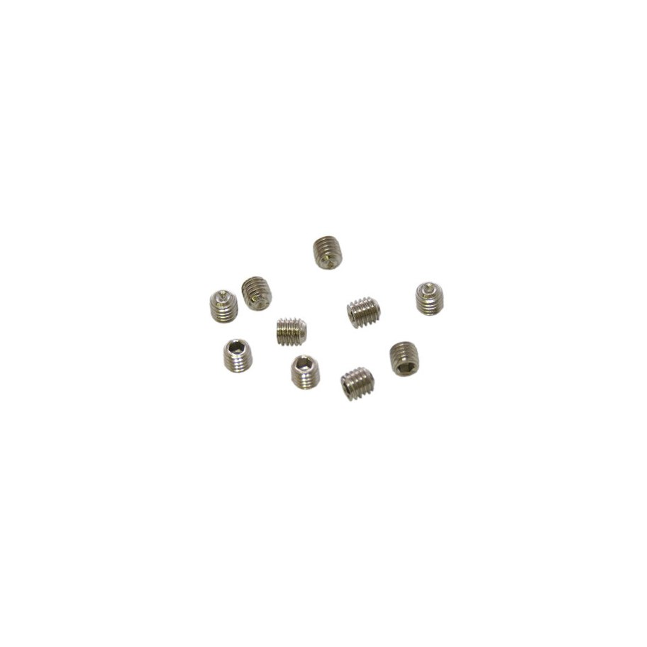 Ultimate Racing M5X5mm Set Screws (10 Pcs)