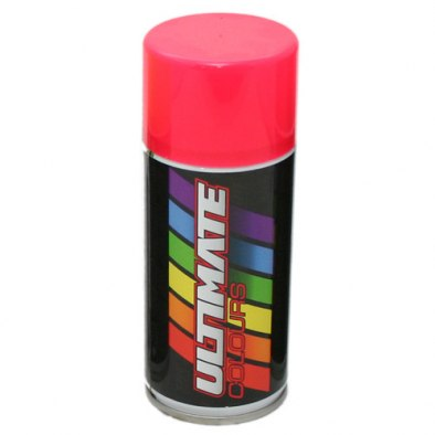Ultimate Colours Fluorescent Red 150ml