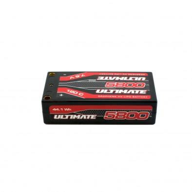 Batería Ultimate Grafeno HV LiPo Shorty 7.6v....