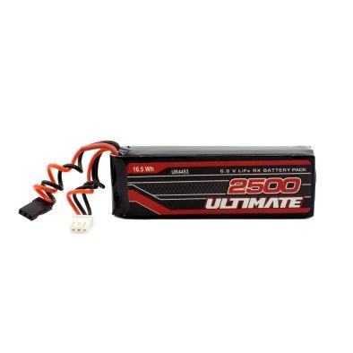 Batería LiFe Receptor Plana 6.6v. 2500mAh...