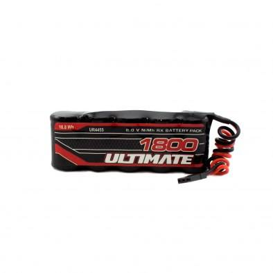 Batería Ultimate NiMh Receptor Plana 6.0V. 1800mAh
