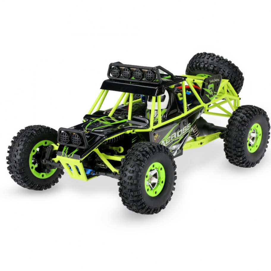 Wltoys 12427 1/12 Trial 4WD Verde