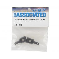 Associated RC8B3 17mm Diff Outdrives (RC8B3.2 Front)