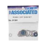 Associated RC8B3.2 Diff Shim Set