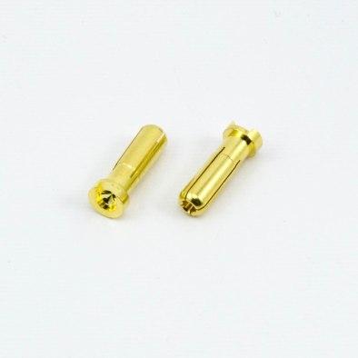 Conector Banana 5.0mm 90 Grados Macho (2)...