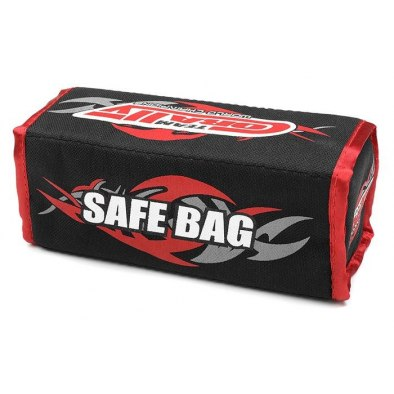 Team Corally LiPo Safe Bag - For 2 Pcs 2S Hard...