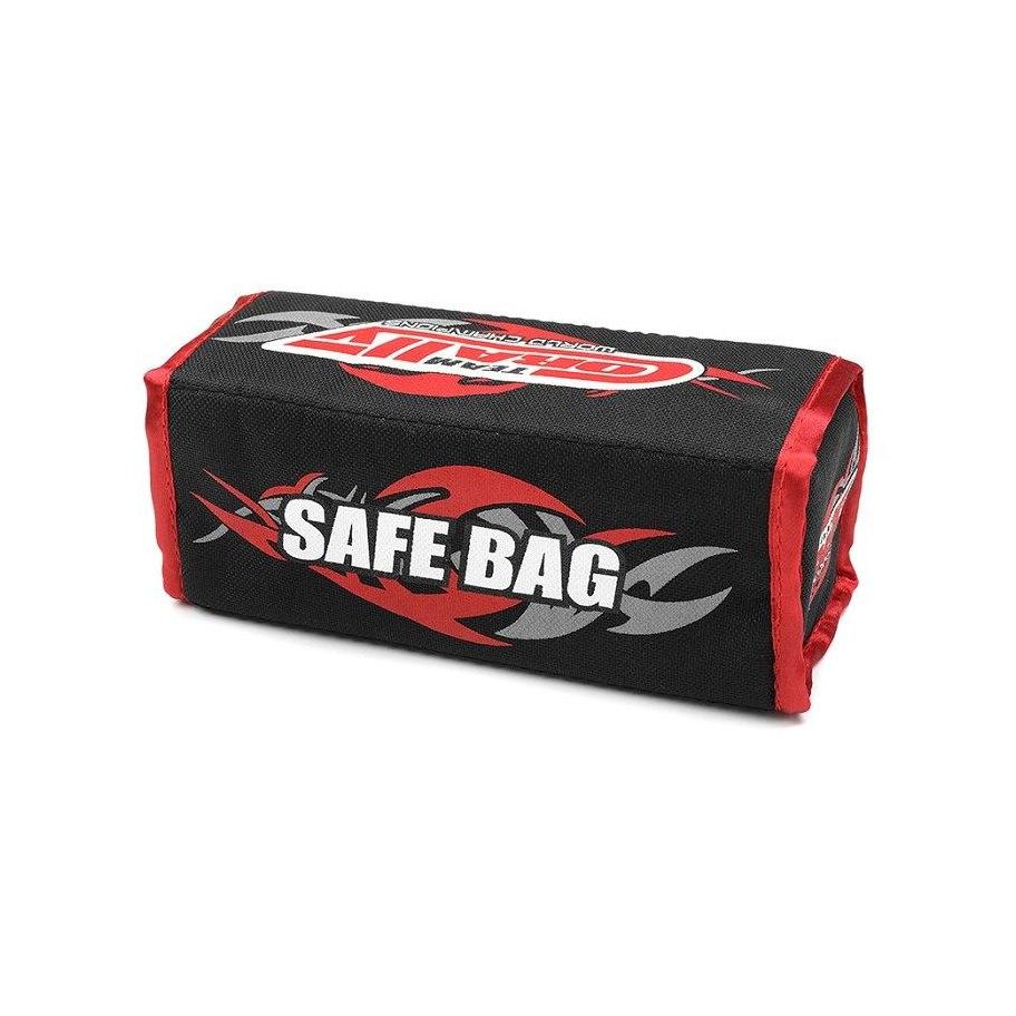Team Corally LiPo Safe Bag - For 2 Pcs 2S Hard Case Batterypacks