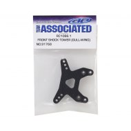 Associated B6.1 Front Shock Tower Gull-Wing Graphite