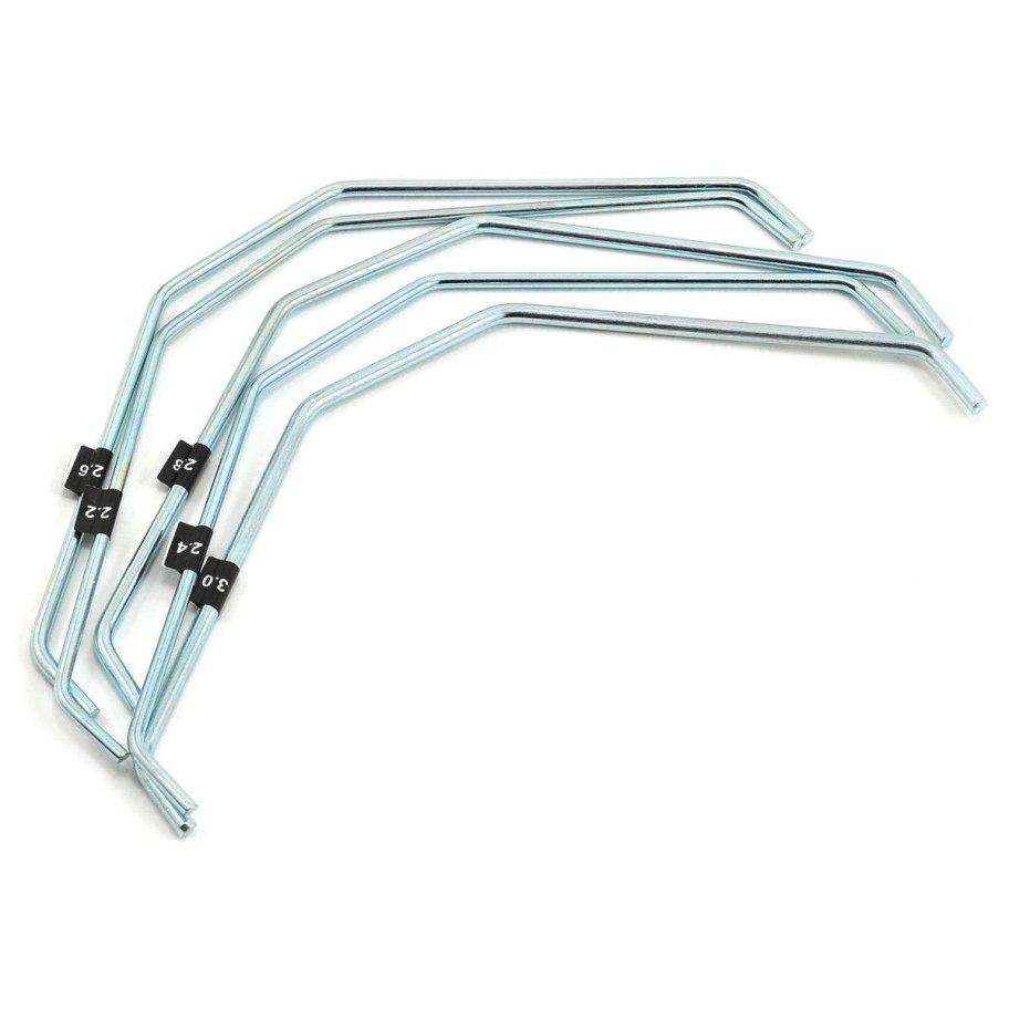 HB Racing Rear Sway Bar Set V2 (2.2/2.4/2.6/2.8/3.0mm)