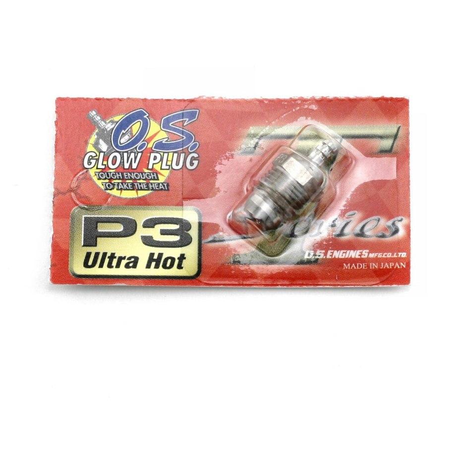 "Bujía O.S P3 Turbo ""Ultra Caliente"""