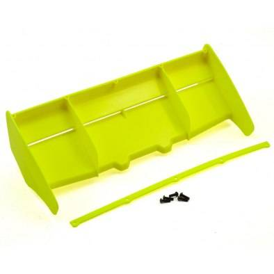 HB Racing High Downforce Wing (Yellow)